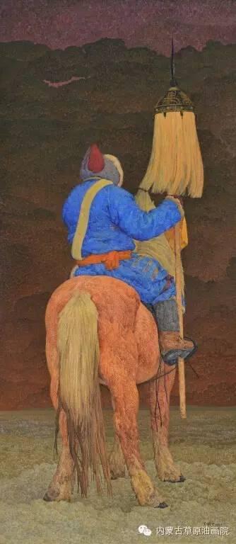 内蒙古草原油画院画家--王耀中 第4张