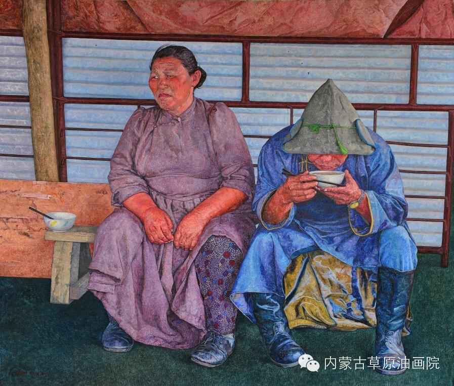 内蒙古草原油画院画家--王耀中 第3张