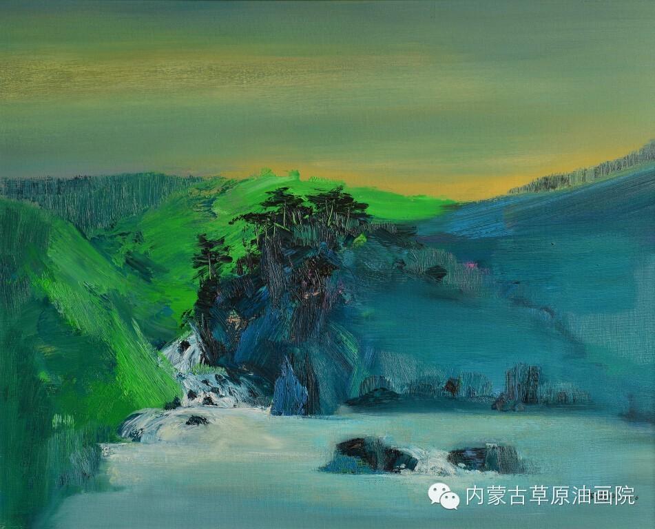 内蒙古草原油画院画家--王耀中 第9张