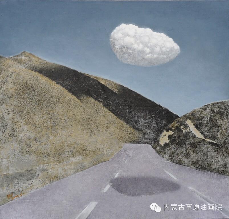 内蒙古草原油画院画家--王耀中 第12张