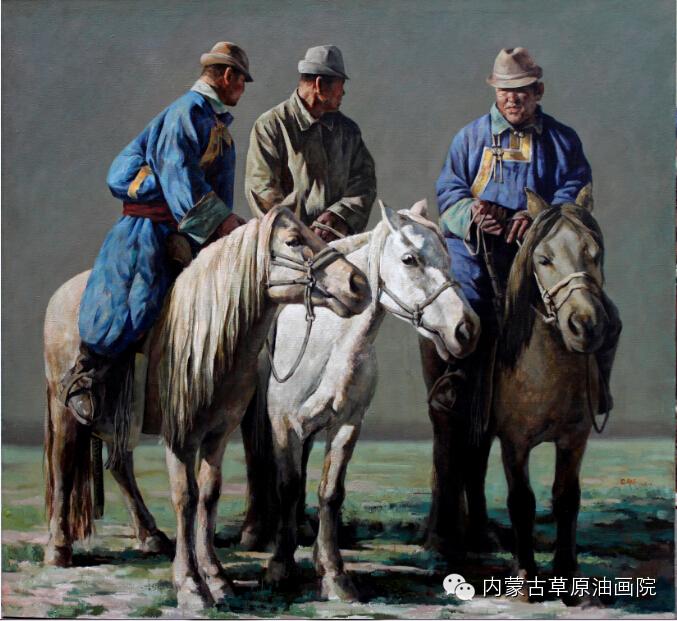 内蒙古草原油画院画家--包都荣 第12张