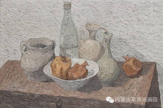 内蒙古草原油画院画家--都仁毕力格 第14张