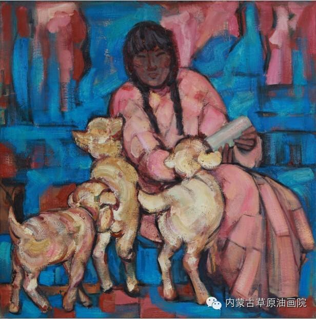 内蒙古草原油画院画家--包双梅 第8张
