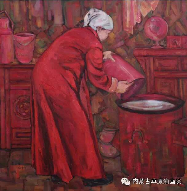 内蒙古草原油画院画家--包双梅 第11张