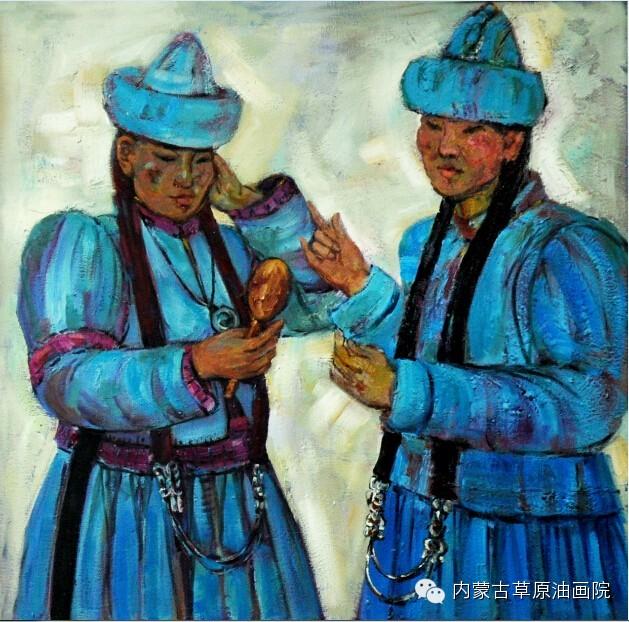 内蒙古草原油画院画家--包双梅 第16张