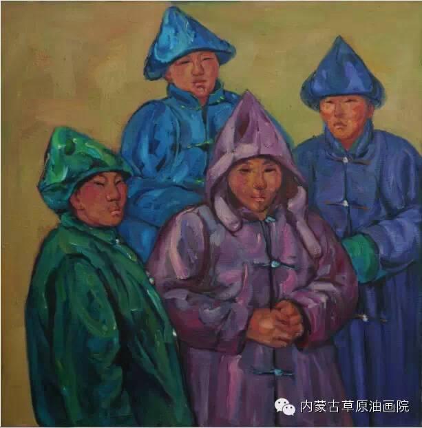 内蒙古草原油画院画家--包双梅 第21张