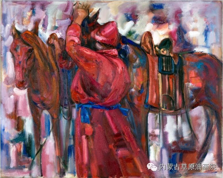 内蒙古草原油画院画家--包双梅 第20张