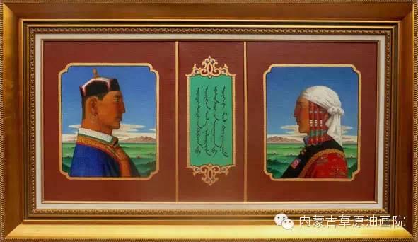 内蒙古草原油画院画家-谢建德 第2张