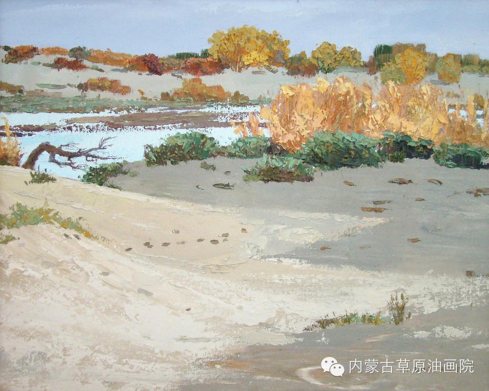 内蒙古草原油画院画家-布和朝鲁 第18张