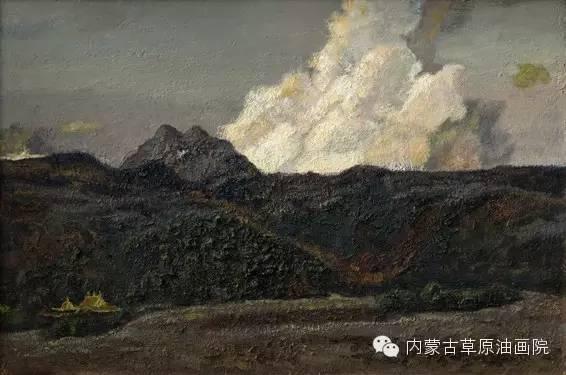 内蒙古草原油画院画家王殿华 第8张