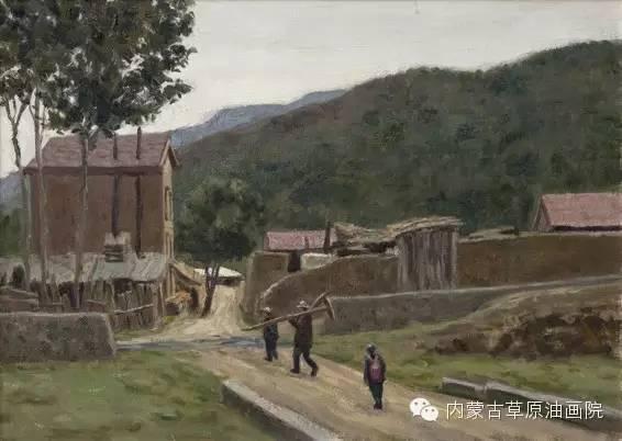 内蒙古草原油画院画家王殿华 第9张