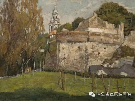 内蒙古草原油画院画家王殿华 第11张