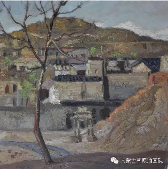 内蒙古草原油画院画家王殿华 第12张