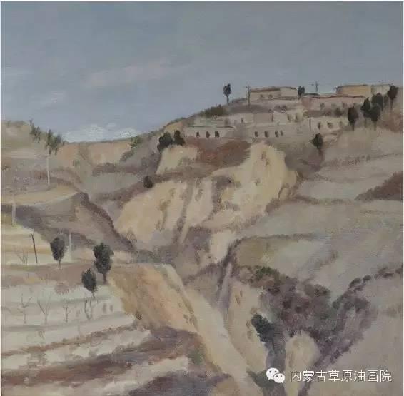 内蒙古草原油画院画家王殿华 第14张