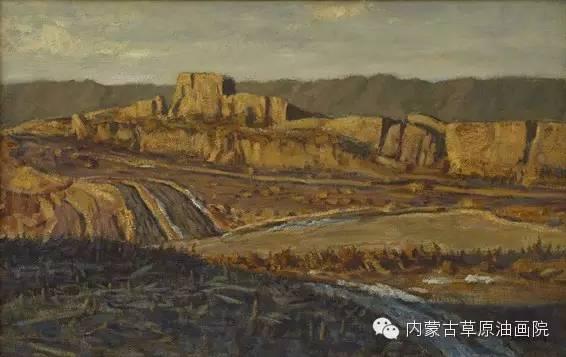 内蒙古草原油画院画家王殿华 第20张