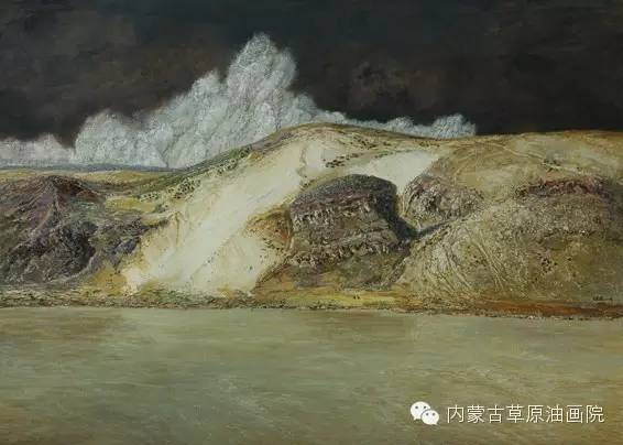 内蒙古草原油画院画家王殿华 第16张