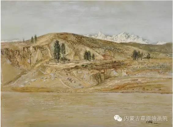 内蒙古草原油画院画家王殿华 第24张