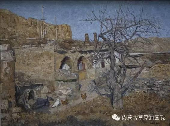 内蒙古草原油画院画家王殿华 第21张