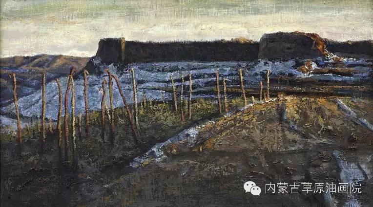 内蒙古草原油画院画家王殿华 第23张