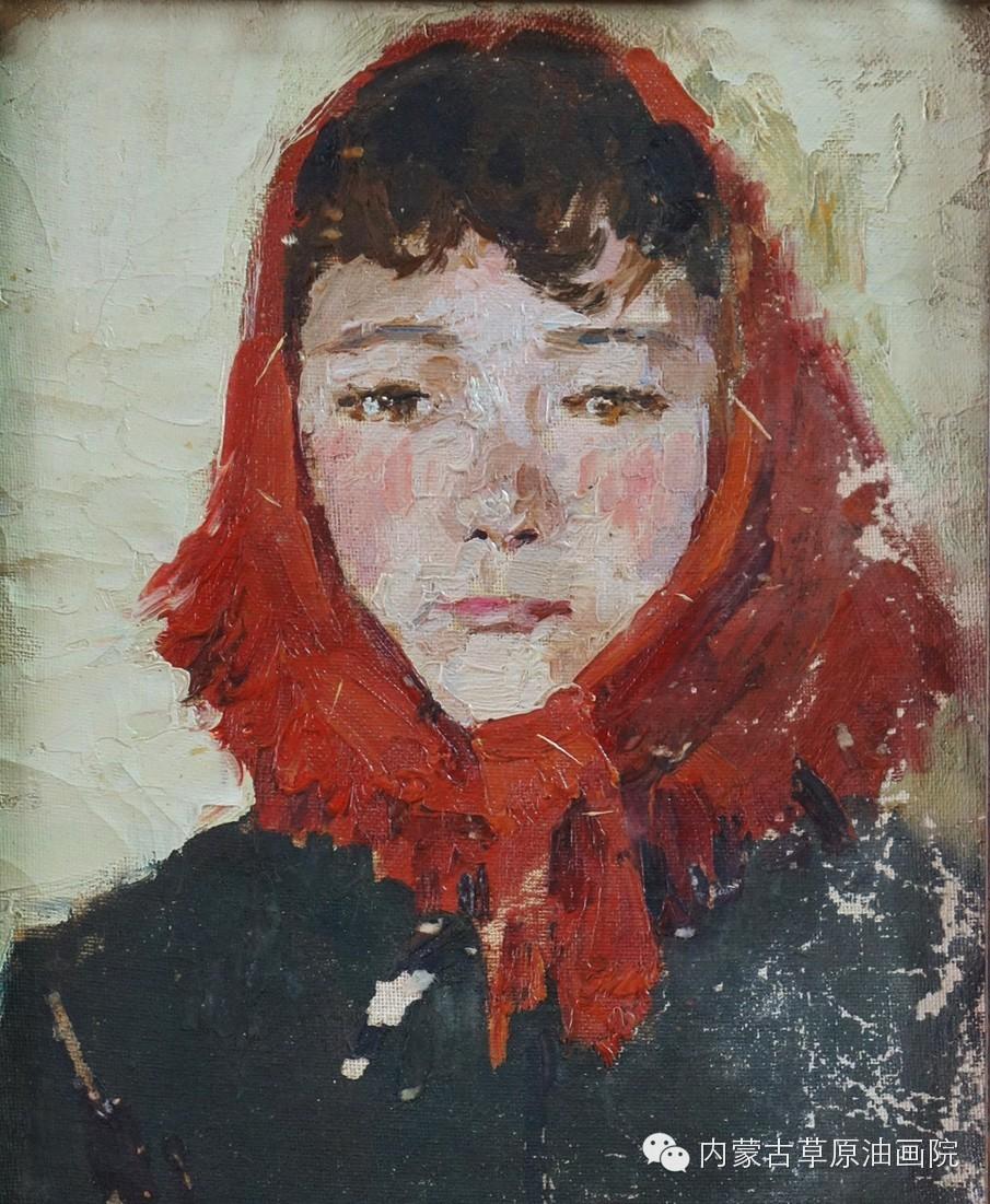 内蒙古草原油画院画家--吉尔格楞 第5张