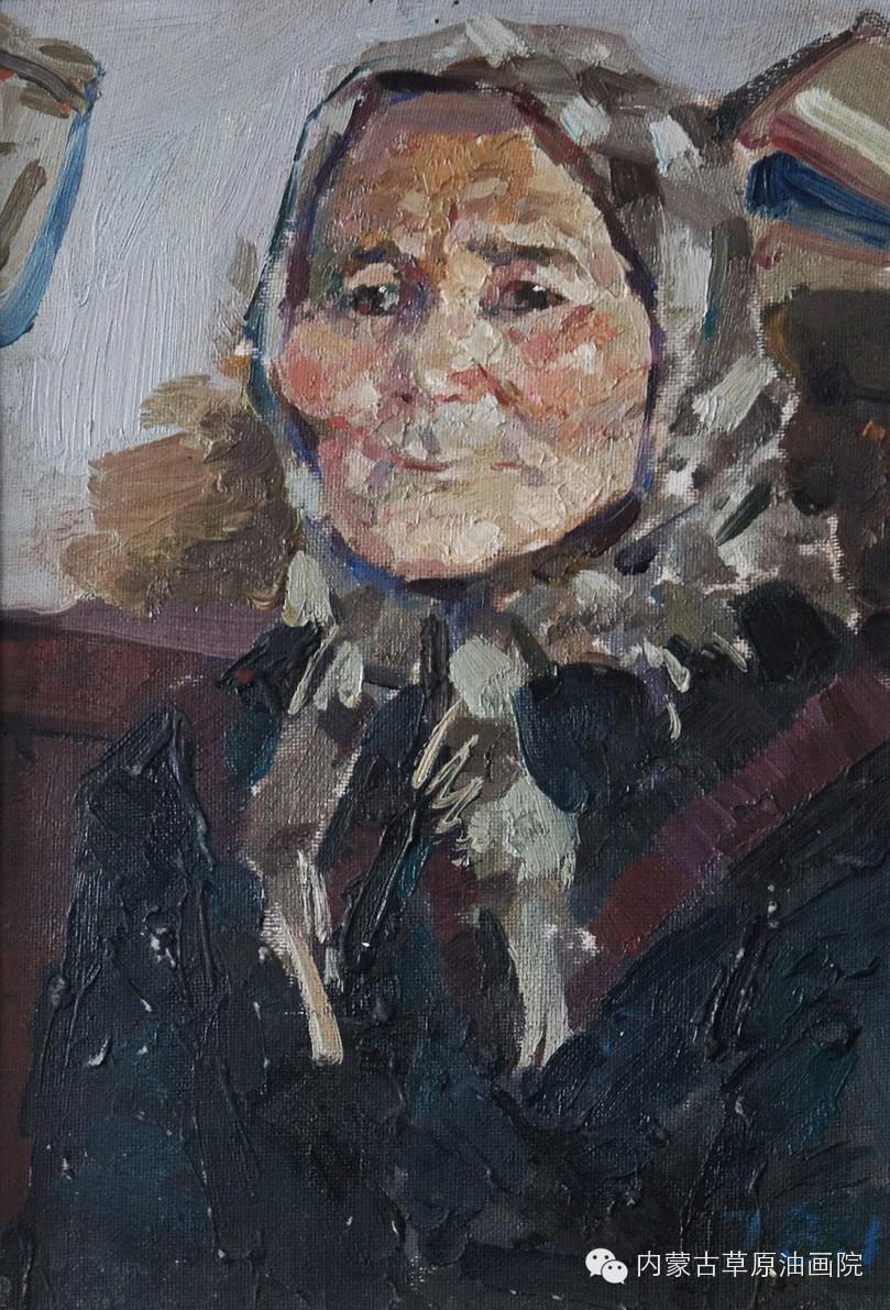 内蒙古草原油画院画家--吉尔格楞 第4张