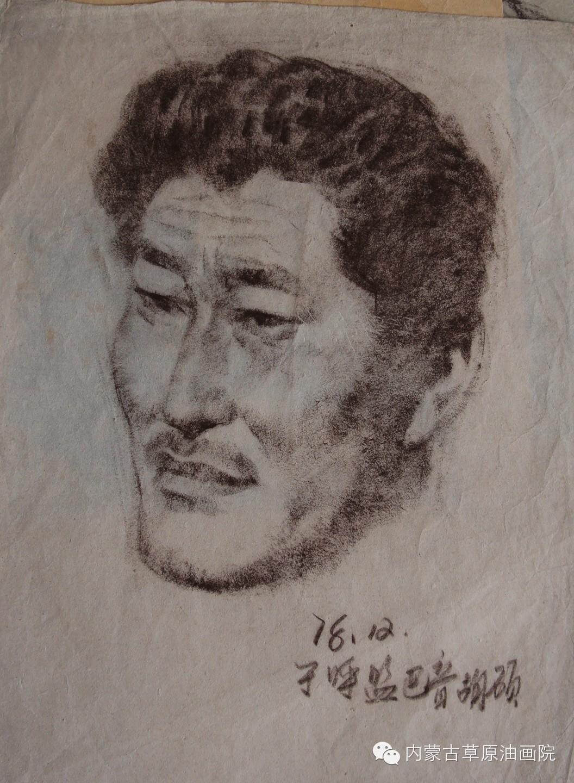 内蒙古草原油画院画家--吉尔格楞 第10张