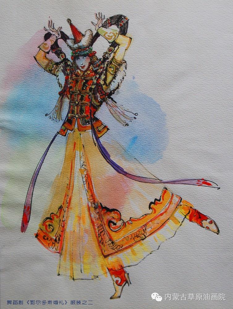 内蒙古草原油画院画家--吉尔格楞 第38张