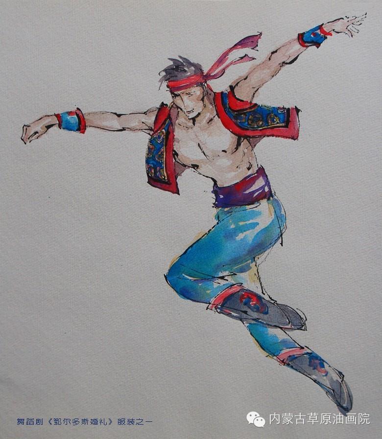 内蒙古草原油画院画家--吉尔格楞 第37张