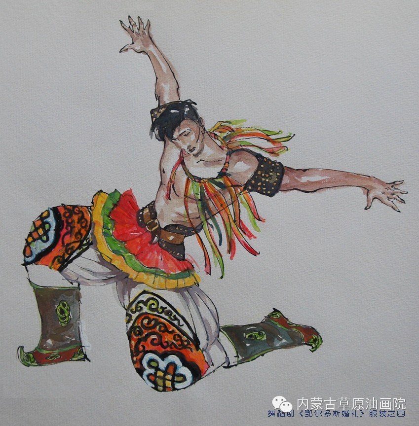 内蒙古草原油画院画家--吉尔格楞 第40张