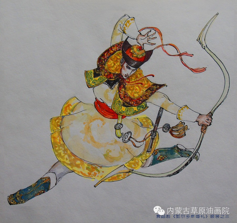 内蒙古草原油画院画家--吉尔格楞 第39张