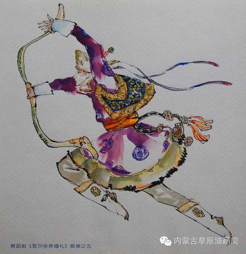 内蒙古草原油画院画家--吉尔格楞 第41张