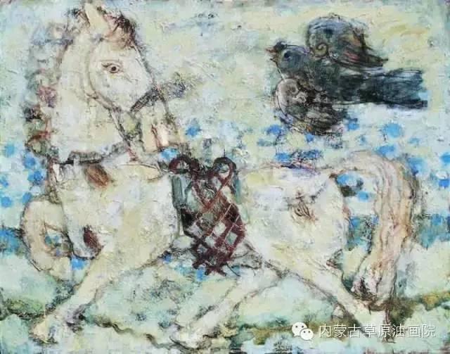 内蒙古草原油画院画家--砂金 第4张