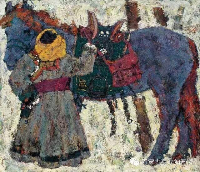 内蒙古草原油画院画家--砂金 第2张