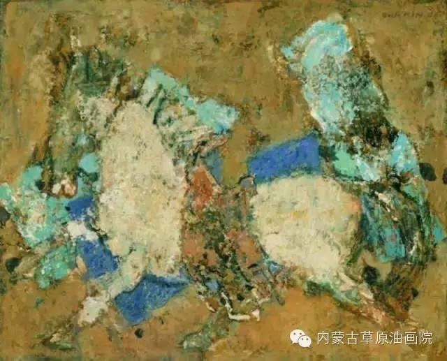 内蒙古草原油画院画家--砂金 第5张