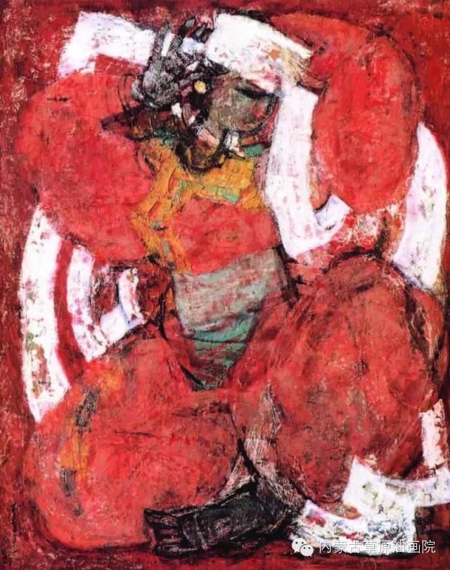内蒙古草原油画院画家--砂金 第8张