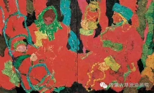 内蒙古草原油画院画家--砂金 第12张