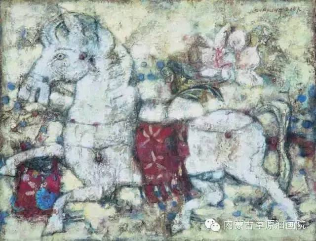 内蒙古草原油画院画家--砂金 第10张