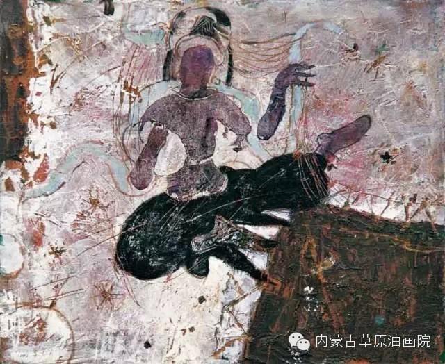 内蒙古草原油画院画家--砂金 第17张