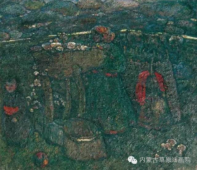 内蒙古草原油画院画家--砂金 第15张