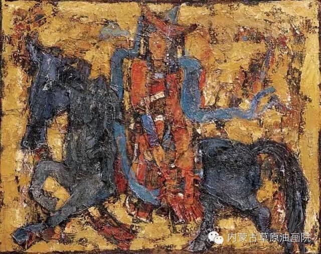 内蒙古草原油画院画家--砂金 第16张