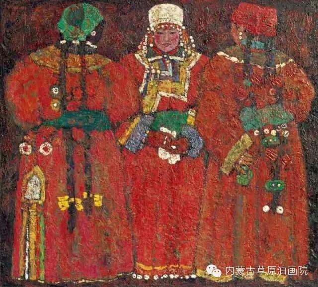 内蒙古草原油画院画家--砂金 第21张