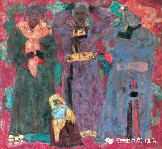 内蒙古草原油画院画家--砂金 第20张