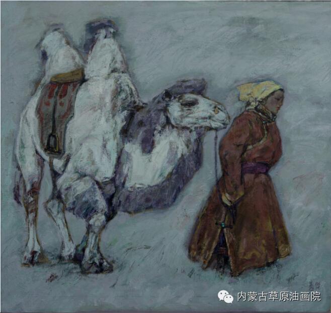 内蒙古草原油画院画家--燕杰 第1张