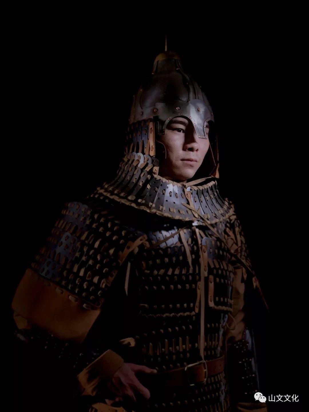 噔,盔甲出炉了 | 蒙古帝国胸背阔板铁札甲 第6张