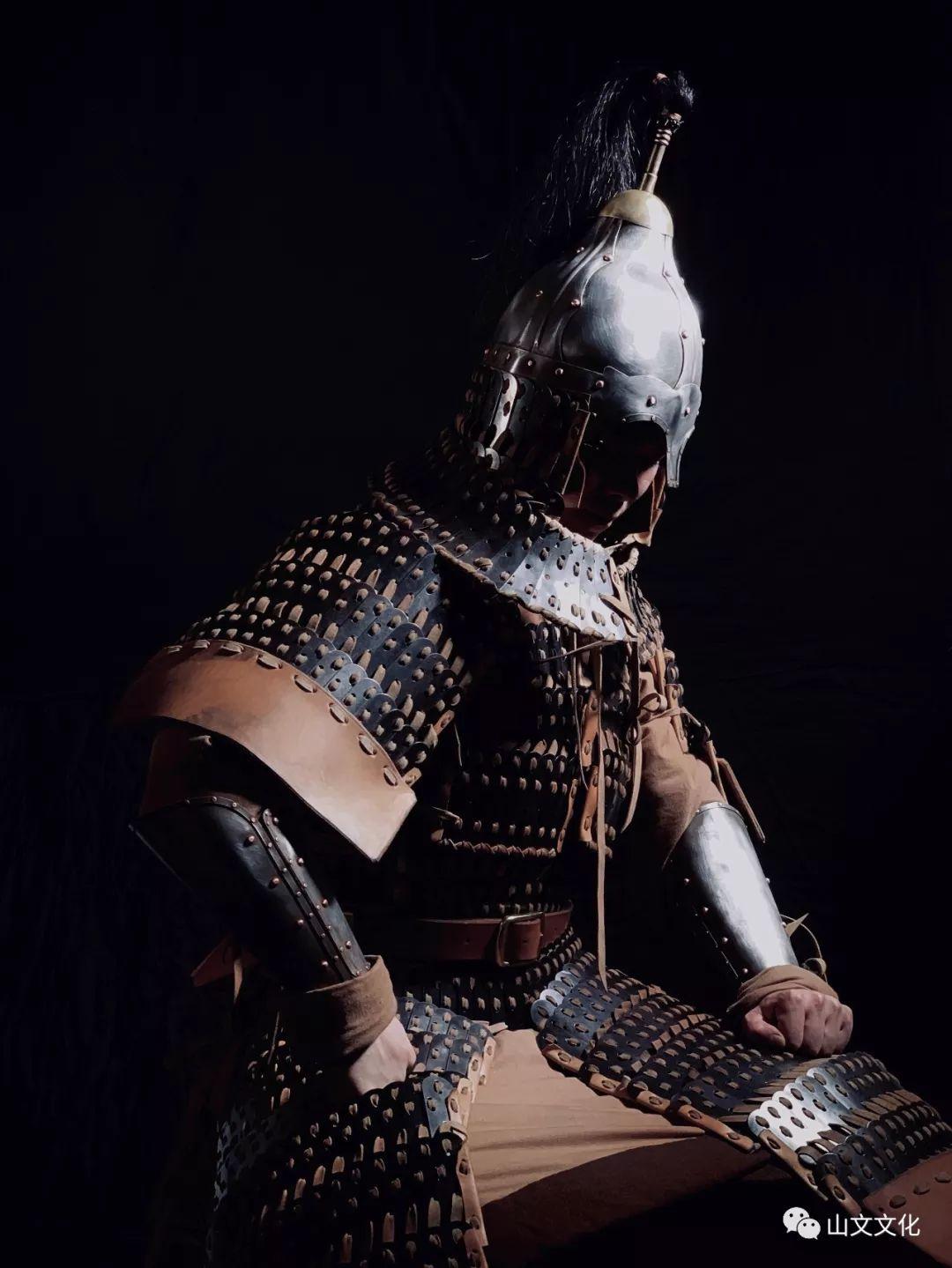 噔,盔甲出炉了 | 蒙古帝国胸背阔板铁札甲 第8张