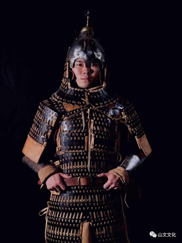 噔,盔甲出炉了 | 蒙古帝国胸背阔板铁札甲 第11张
