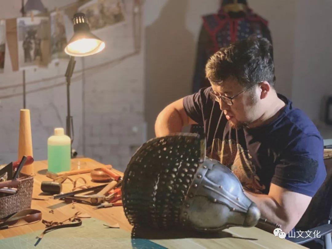 噔,盔甲出炉了 | 蒙古帝国胸背阔板铁札甲 第14张