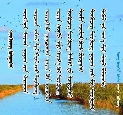 ◈ 蒙古歌词100首(第6部) 第37张