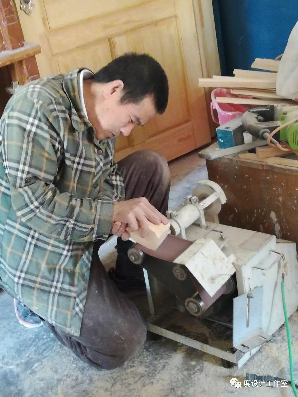 从图纸到实物,我们一起走过 彩绘蒙古族风格立柜的制作过程展示 第8张