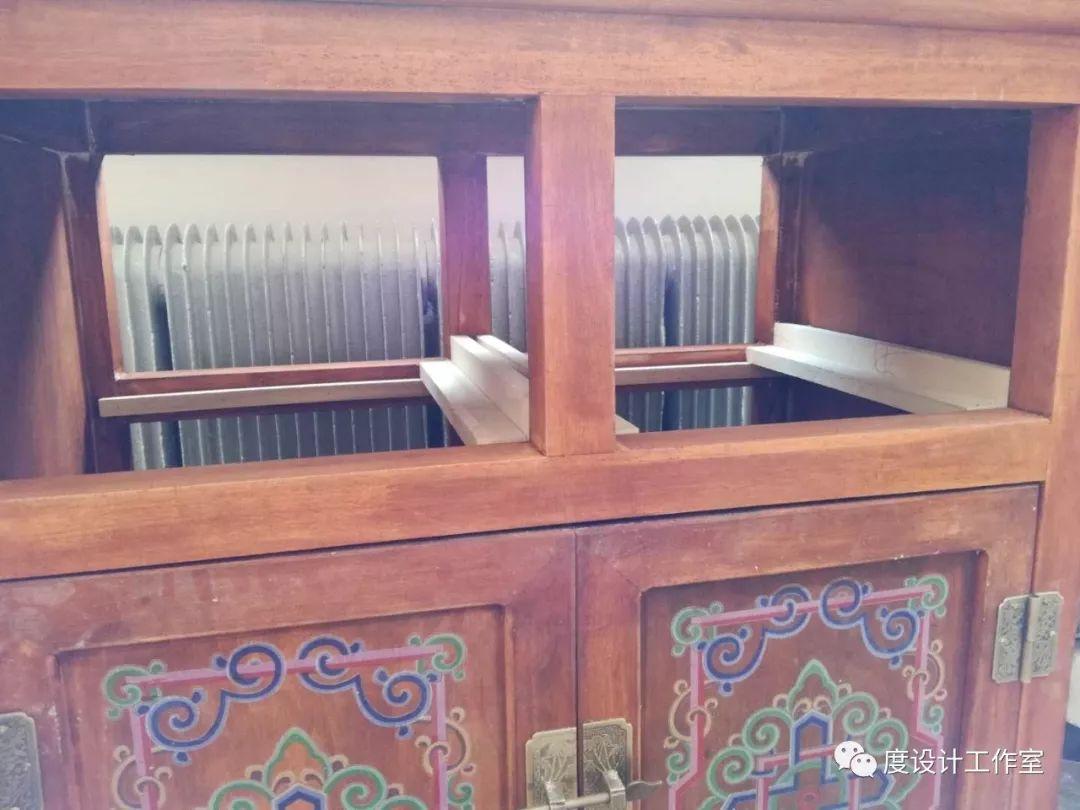 从图纸到实物,我们一起走过 彩绘蒙古族风格立柜的制作过程展示 第21张